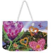 Garden Of Love 2 Weekender Tote Bag by Alixandra Mullins