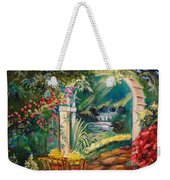 Garden Of Serenity Beyond Weekender Tote Bag