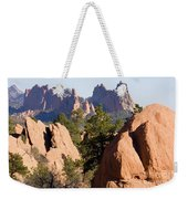 Garden Of The Gods And Red Rocks Open Space Weekender Tote Bag