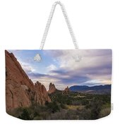 Garden Of The Gods At Sunrise - Colorado Springs Weekender Tote Bag
