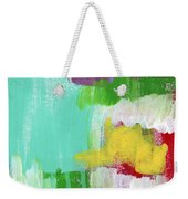 Garden Path- Abstract Expressionist Art Weekender Tote Bag