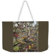 Garden Picnic Weekender Tote Bag