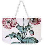 Garden Poppy With Black Seeds Weekender Tote Bag