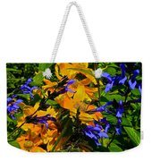 Garden Splash Weekender Tote Bag