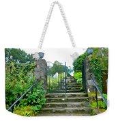 Garden Steps Weekender Tote Bag