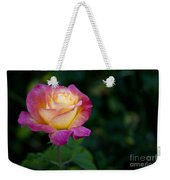 Garden Tea Rose Weekender Tote Bag
