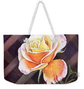 Garden Tea Rose Weekender Tote Bag
