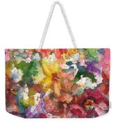 Garden - The Secret Life Of The Leftover Paint Weekender Tote Bag