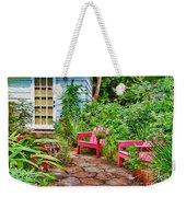 Garden Treasures At Aunt Eden's By Diana Sainz Weekender Tote Bag