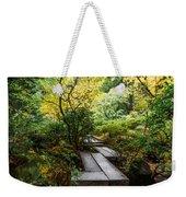 Garden Walkway Weekender Tote Bag