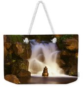 Garden Waterfall Weekender Tote Bag