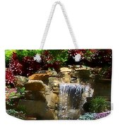 Garden Waterfalls Weekender Tote Bag