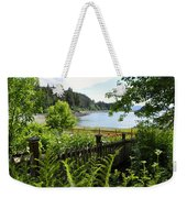 Garden With A View Weekender Tote Bag