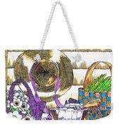 Gardener's Basket Weekender Tote Bag