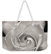 Gardenia Bloom In Sepia Weekender Tote Bag