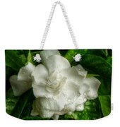 Gardenia In The Rain Weekender Tote Bag