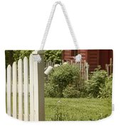 Garden's Entrance Weekender Tote Bag by Margie Hurwich