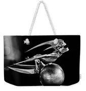 Gargoyle Hood Ornament 2 Weekender Tote Bag