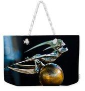 Gargoyle Hood Ornament Weekender Tote Bag by Jill Reger