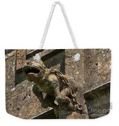 Gargoyle On The Church Of St Mary At Sudeley Castle Weekender Tote Bag