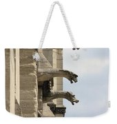 Gargoyles Of Notre Dame Weekender Tote Bag