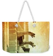 Gargoyles With Textures And Color Weekender Tote Bag