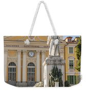 Garibaldi Monument In Nice France Weekender Tote Bag