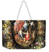 Garland Of Fruit And Flowers Weekender Tote Bag