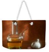 Garlic And Olive Oil. Weekender Tote Bag