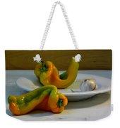 Garlic And Peppers Weekender Tote Bag