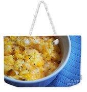Garlic Cheesy Eggs Weekender Tote Bag