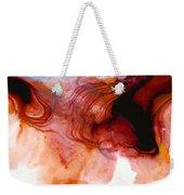 Garnet Sea - Abstract Art By Sharon Cummings Weekender Tote Bag