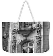 Garrison Hall Window Ut Bw Weekender Tote Bag
