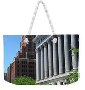 Gas Building And Nml Tall Weekender Tote Bag