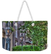 Gas Light Glow Weekender Tote Bag