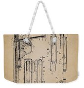 Gas Operated Semi-automatic Pistol Weekender Tote Bag