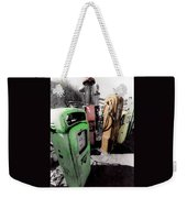Gas Pump Grave 23 Weekender Tote Bag