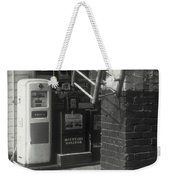 Gas Station Abstract Weekender Tote Bag