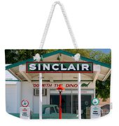 Gas Station And Truck Weekender Tote Bag