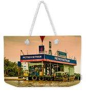 Gas Station Vietnam Style Weekender Tote Bag