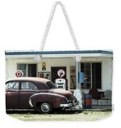 Gas Station Weekender Tote Bag