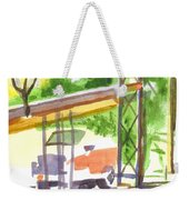 Gaslight At The Truck Stop Weekender Tote Bag