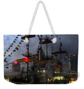 Gasparilla Ship Print Work B Weekender Tote Bag