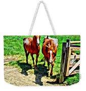 Gate Horse Weekender Tote Bag