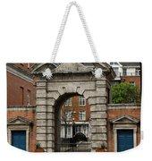 Gate Of Fortitude - Dublin Castle Weekender Tote Bag
