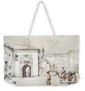 Gate Of The Vine , From Sketches Weekender Tote Bag