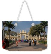 Gate To Maharaja's Palace India Mysore Weekender Tote Bag