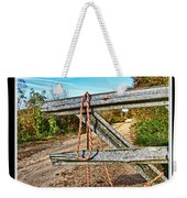 Gated Community Country Style Weekender Tote Bag