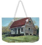 Gates Chapel - Ellijay Ga - Old Homestead Weekender Tote Bag