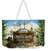 Gateway To Grandeur Weekender Tote Bag